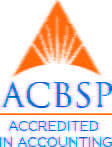 ACBSP Accredited in Accounting logo