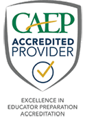 CAEP Accredited logo