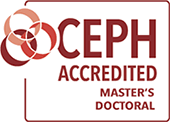 CEPH Accredited Master's and Doctoral logo