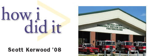 How I did It by Scott Kerwood 2008 and image of firehouse and fire trucks.