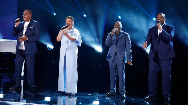 Voices of Service performing on America's Got Talent